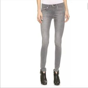 Rag & Bone The Skinny Jeans in Buxton Grey